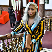Attendees at the Mr & Miss Congo 2020,on 29th Febryary 2020 at Old Townhall,Stratford, London, UK
