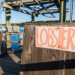 Miller's Wharf in Tenants Harbor, Maine.