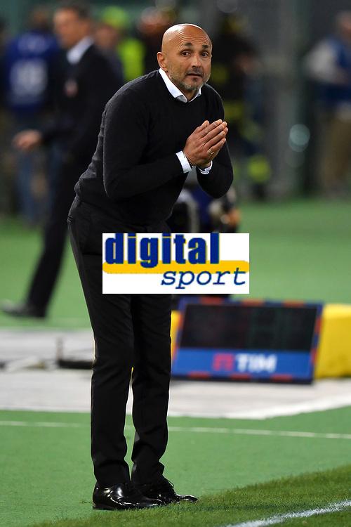 Luciano Spalletti Roma <br /> Roma 11-04-2016 Stadio Olimpico Football Calcio Serie A 2015/2016 AS Roma - Bologna Foto Andrea Staccioli / Insidefoto