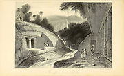 The Upper Cave, Salsette [Salsette Island is an island in the state of Maharashtra on India's west coast. The metropolis of Mumbai and the cities of Thane and Mira-Bhayander lie on it,] From the book ' The Oriental annual, or, Scenes in India ' by the Rev. Hobart Caunter Published by Edward Bull, London 1836 engravings from drawings by William Daniell