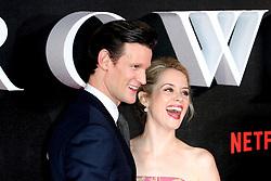 November 1, 2016 - London, UK - London, UK, Matt Smith; Claire Foy, The Crown - Global premiere, (Credit Image: © Richard Goldschmidt/London News Pictures via ZUMA Wire)