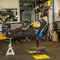 Corvette garage at Le Mans 24H, 2014 (Saturday, 14 June)