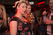 ANDREA MONTAGU; VICTORIA TRIPP; , The launch of Beaver Lodge in Chelsea, a cabin bar and dance saloon, 266 Fulham Rd. London. 4 December 2014