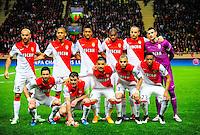 Equipe Monaco - 17.03.2015 - Monaco / Arsenal - 1/8Finale Retour Champions League<br />Photo : Dave Winter / Icon Sport