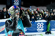 Mark McMorris during Men's Snowboard Big Air Finals at 2017 X Games Norway at Hafjell Alpinsenter in Øyer, Norway. ©Brett Wilhelm/ESPN