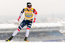 February 9, 2019 - Lahtis, FINLAND - 190209   Johannes HÂ¿sflot Kl¾bo of Norway competes in the men's sprint qualification during the FIS Cross-Country World Cup on February 9, 2019 in Lahti..Photo: Johanna Lundberg / BILDBYRN / 135947 (Credit Image: © Johanna Lundberg/Bildbyran via ZUMA Press)