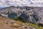 Goat Island Mountain rises across the White River Valley from Burroughs Mountain #1.