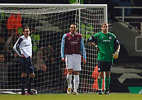 Photo: Daniel Hambury.<br />West Ham United v Bolton Wanderers. The FA Cup. 15/03/2006.<br />Bolton's Nicky Hunt (L) looks gutted after scoring an own goal.
