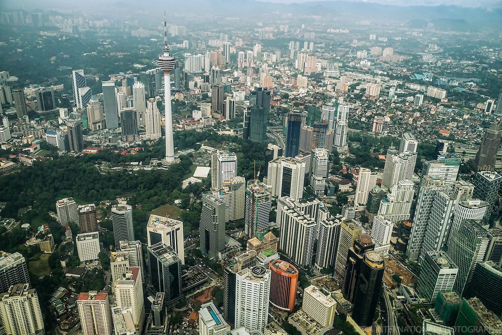 KL Tower, Bukit Nanas & Bukit Kewangan (Pineapple Hill & Financial Hill)