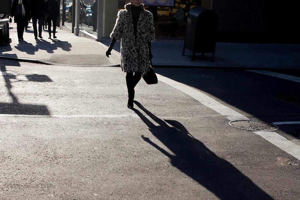 New York, New York. Etats Unis. 18 Decembre 2010.Upper East Side. Madison Avenue..New York, New York. United States. December 18th 2010.Upper East Side. Madison Avenue..