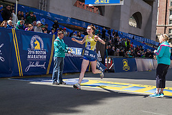 BAA Invitational Miles, Middle School Girls 1000 meter race, Allison Sibold, Wellesley, wins in 3:22.7