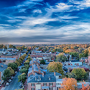 Twilight over Fredericksburg, VA.