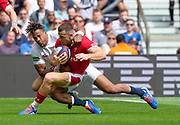 Twickenham, Surrey, World Cup, Sunday, 11.08.19, Englands, Antony WATSON,  playing in the Warm up match, Quilter International, England vs Wales, at the RFU Stadium  [© Peter SPURRIER/Intersport Image]<br /> <br /> 14:04:27