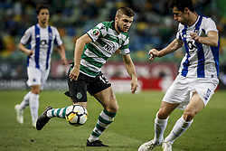April 19, 2018 - Na - Lisbon, 04/18/2018 - Sporting Clube de Portugal received this evening the Futebol Clube do Porto in the stadium of Alvalade in Lisbon, in game to count for the second leg of the Portuguese Cup 2017/2018 semi-final. Stefan Ristovski  (Credit Image: © Atlantico Press via ZUMA Wire)