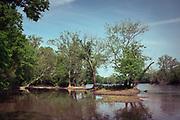 The Potomac River in Turkey Run Park, Virginia