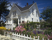 The Whitegate, a bed and breakfast inn in Mendocino, California.