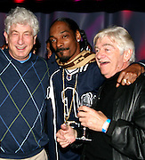 Avi Lerner of Millennium Films, Snoop Dogg & Seymour Cassel .The Tenants Post Screening Party.Aer Premiere Lounge.New York, NY, USA.Monday, April, 25, 2005.Photo By Selma Fonseca/Celebrityvibe.com/Photovibe.com, .New York, USA, Phone 212 410 5354, .email: sales@celebrityvibe.com ; website: www.celebrityvibe.com...