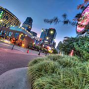 Downtown Kansas City MO at the Sprint Center at Truman Rd and Grand Avenue.