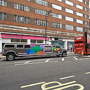 The Hammer limousine in Oxford Street