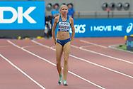 Sara Kuivisto (Finland), 800 Metres Women - Round 1, Heat 1, during the 2019 IAAF World Athletics Championships at Khalifa International Stadium, Doha, Qatar on 27 September 2019.