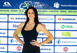 Manja Dobrilovic posing during 3rd Stage of 26th Tour of Slovenia 2019 cycling race between Zalec and Idrija (169,8 km), on June 21, 2019 in Slovenia. Photo by Vid Ponikvar / Sportida