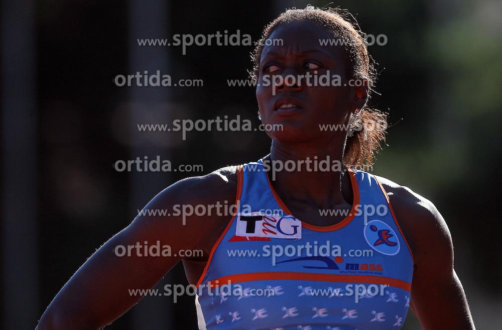 Merlene Ottey at Athletic National Championship of Slovenia, on July 19, 2008, in Stadium Poljane, Maribor, Slovenia. (Photo by Vid Ponikvar / Sportal Images).