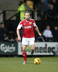 Bristol City's Louis Carey - Photo mandatory by-line: Matt Bunn/JMP - Tel: Mobile: 07966 386802 21/12/2013 - SPORT - FOOTBALL - Meadow Lane - Nottingham - Notts County v Bristol City - Sky Bet League One