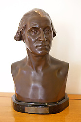 Bust of George Washington, Chiam & Vera Weizmann's Home
