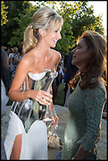 LADY VICTORIA HERVEY, 2014 Serpentine's summer party sponsored by Brioni.with a pavilion designed this year by Chilean architect Smiljan Radic  Kensington Gdns. London. 1July 2014