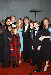 December 4, 2005 - Washington, D.C, U.S. - 04 December 2005 - Washington D.C. - Robert Redford and family. 28th Annual Kennedy Center Honors recognizing Tony Bennett, Suzanne Farrell, Julie Harris, Robert Redford and Tina Turner held at the The Kennedy Center. Photo Credit: Laura Farr/AdMedia (Credit Image: © Laura Farr/AdMedia via ZUMA Wire)