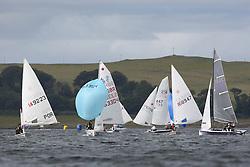 Peelport Clydeport Largs Regatta Week 2013 <br /> <br /> Dinghy Fleet with 149223, Laser, Fernando Gamboa, 420, 53304, Roy Harper and Isla Harper<br /> <br /> Largs Sailing Club, Largs Yacht Haven, Scottish Sailing Institute