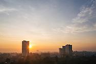 Pattaya beach sunrise Chonburi Thailand