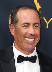 Jerry Seinfeld arriving for The 68th Emmy Awards at the Jerry Seinfeld, Jessica Seinfeld, LA Live, Los Angeles, 18th September 2016.