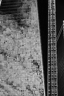 New York, World trade center one, tower, WTC 1 tower building under contruction,, World trade center area under reconstruction/ Construction de la nouvelle tour World trade center one dans le bas de Manhattan