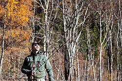 THEMENBILD - Fliegenfischen an der Isel. Fischerei Karl Klaunzer. Samstag, 07. November 2020 Matrei in Osttirol. EXPA Pictures © 2020, PhotoCredit: EXPA/ Johann Groder