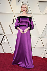 Lucy Boynton walking the red carpet as arriving to the 91st Academy Awards (Oscars) held at the Dolby Theatre in Hollywood, Los Angeles, CA, USA, February 24, 2019. Photo by Lionel Hahn/ABACAPRESS.COM