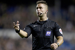 File photo dated 15-09-2015 of Referee James Adcock. James Adcock has sought to reassure any other gay referees that coming out will not negatively affect their career. Issue date: Monday October 11, 2021.