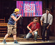 "Photography ©Mara Lavitt<br /> June 11, 2018<br /> <br /> Playhouse on Park cast members of ""In the Heights"" perform at the 28th Annual Connecticut Critics Circle Awards, Westport Country Playhouse."