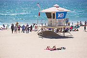 Huntington Beach at Summer