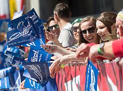 20.04.2016, Aras, AUT, 40. Giro del Trentino Melinda, 2. Etappe von Arno nach Aras, im Bild Fans mit Osttirol Fahnen // during the 2nd stage from Arco to Anras of 40th Giro del Trentino. Auras, Austria on 2015/04/20. EXPA Pictures © 2015, PhotoCredit: EXPA/ Johann Groder