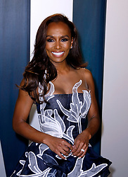February 9, 2020, Beverly Hills, CA, USA: BEVERLY HILLS, CALIFORNIA - FEBRUARY 9: Janet Mock attends the 2020 Vanity Fair Oscar Party at Wallis Annenberg Center for the Performing Arts on February 9, 2020 in Beverly Hills, California. Photo: CraSH/imageSPACE (Credit Image: © Imagespace via ZUMA Wire)