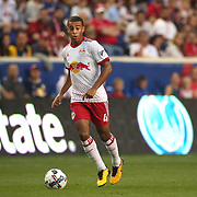 HARRISON, NEW JERSEY- OCTOBER 15: Tyler Adams #4 of New York Red Bullsin action during the New York Red Bulls Vs Atlanta United FC, MLS regular season match at Red Bull Arena, Harrison, New Jersey on October 15, 2017 in Harrison, New Jersey. (Photo by Tim Clayton/Corbis via Getty Images)