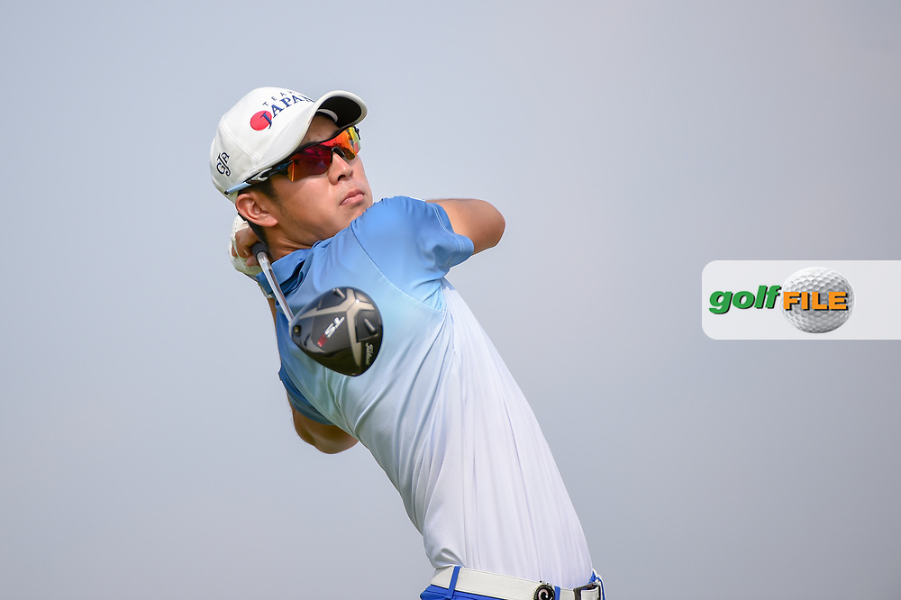 Keita NAKAJIMA (JPN) watches his tee shot on 6 during Rd 3 of the Asia-Pacific Amateur Championship, Sentosa Golf Club, Singapore. 10/6/2018.<br /> Picture: Golffile   Ken Murray<br /> <br /> <br /> All photo usage must carry mandatory copyright credit (© Golffile   Ken Murray)