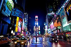 Times Square a noite New York, USA. FOTO: Jefferson Bernardes / Preview.com