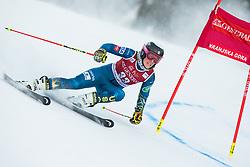 J Hurt A (USA) during the Ladies' Giant Slalom at 57th Golden Fox event at Audi FIS Ski World Cup 2020/21, on January 16, 2021 in Podkoren, Kranjska Gora, Slovenia. Photo by Vid Ponikvar