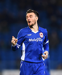 Cardiff City's Scott Malone - Photo mandatory by-line: Paul Knight/JMP - Mobile: 07966 386802 - 10/02/2015 - SPORT - Football - Cardiff - Cardiff City Stadium - Cardiff City v Brighton & Hove Albion - Sky Bet Championship