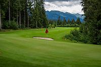 WESTENDORF -  Tirol   Oostenrijk,  - hole 14. Golfanlage Kitzbuheler Alpen Westendorf.    COPYRIGHT KOEN SUYK