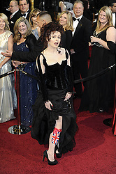 HOLLYWOOD, Feb. 28, 2011  Helena Bonham Carter, Best supporting actress nominee for her role in the film ''The King's Speech'', arrives for the awarding ceremony of the 83rd Annual Academy Awards at the Kodak Theater in Hollywood, California, the United States, Feb. 27, 2011. (Credit Image: © Xinhua via ZUMA Wire)