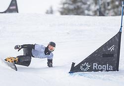 Choi Bogun during the FIS snowboarding world cup race in Rogla (SI / SLO) | GS on January 20, 2018, in Jasna Ski slope, Rogla, Slovenia. Photo by Urban Meglic / Sportida