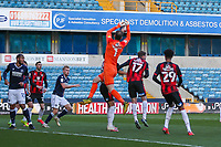 Football - 2020 / 2021 Sky Bet (EFL) Championship - Millwall vs AFC Bournemouth  - The Den<br /> <br /> Asmir Begovic (AFC Bournemouth) dominates his area to collect the ball <br /> <br /> COLORSPORT/DANIEL BEARHAM